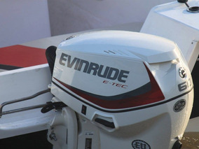 Motor Nautico Fuera De Borda Evinrude E-tec De 60 Hp 2018