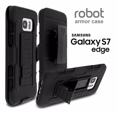 Funda Robot Armor Samsung Galaxy S7 Edge G935f Holster Cover