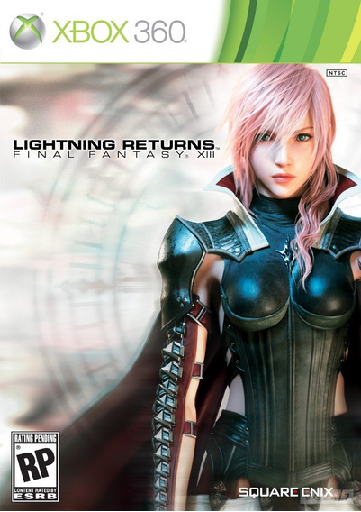 Jogo Lacrado Lightning Returns Final Fantasy Xiii - Xbox 360