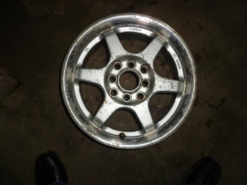 Vendo Rin # 14 De 8 Huecos Para Carro 4 Huecos En Aluminio