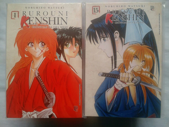 Mangá Rurouni Kenshin Completo Edição Nova