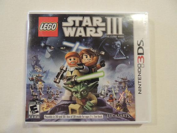 Jogo Nintendo 3ds Star Wars Iii