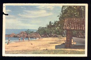 Cartão Postal Antigo Ilha Bela Sp Pedra Dos Sinos