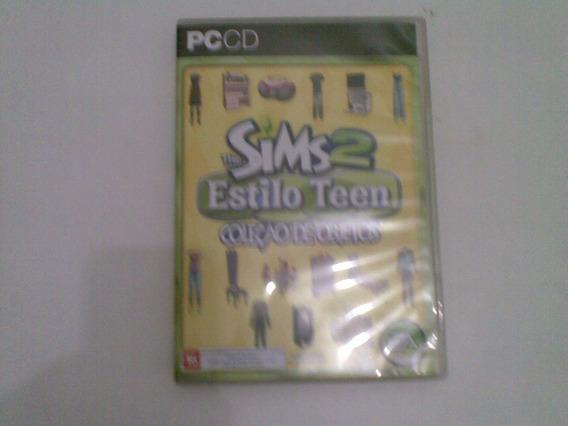 The Sims Estilo Teen Coleçao De Objetos 2007