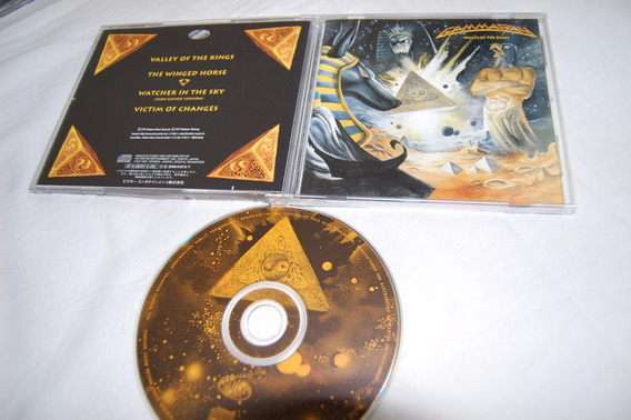 Gamma Ray - Valley Of The Kings - Cd Single Japão Kai Hansen