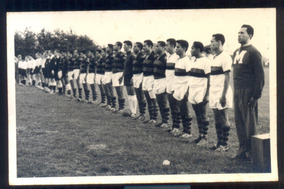 Cartão Postal Antigo Time De Futebol Flamengo