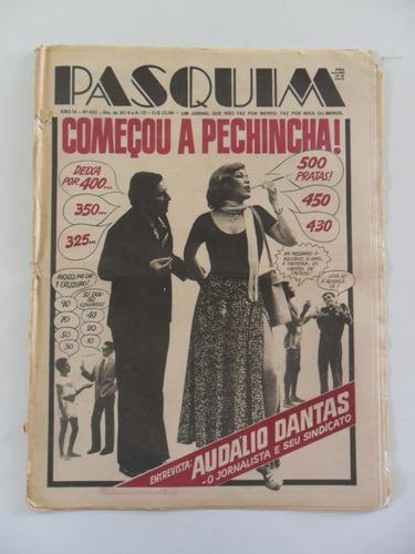 Pasquim Nº 431! Entrevista Audálio Dantas! Out 1977