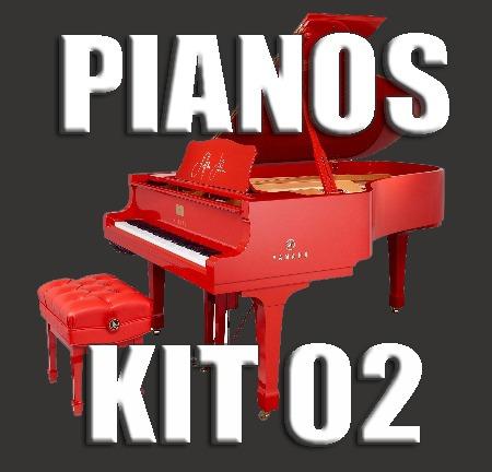 Kit 02 - Samples De Pianos P/ Korg Pa600 Pa900