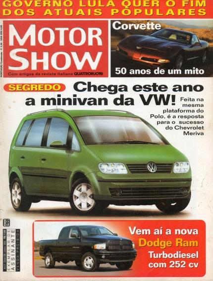 Motor Show Nº238 Gm Corvette 50 Anos Dodge Ram Turbodiesel