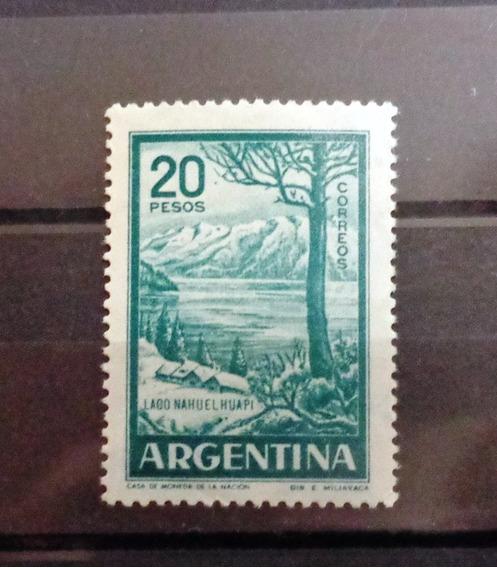 Argentina, Gj 1145 B, Mint. Tizado Nacional Val.cat 25 Dol