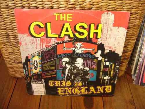 The Clash This Is England 12 Ep Vinilo