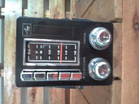 Rádio Antigo Am P/carros Antigo  Ra - 11  J