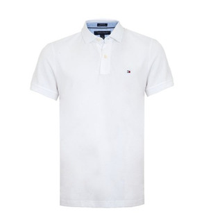 Camisa Polo Classic Tommy Hilfiger Branca M