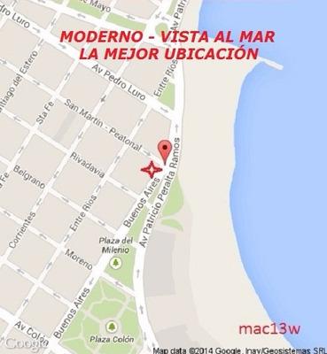 2da Febrero, Vista Al Mar, Centro, 2 Amb. 4 Personas. Dueño.