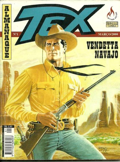 Tex Almanaque Nº 1 Raro - Vendeta Navarro