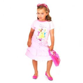 Hermoso Conjunto Princesas Niña T8, T10