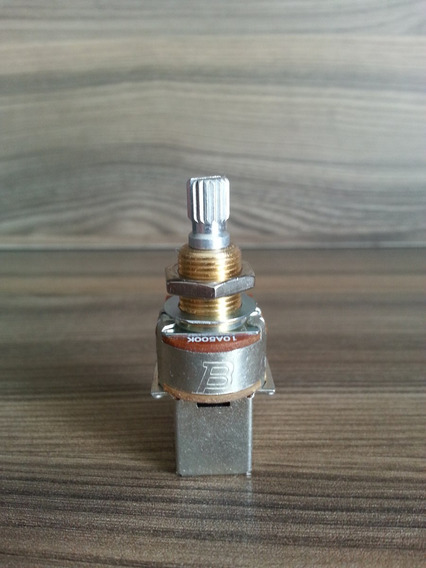 Potenciometro 500k Bourns Push Pull Audio Taper Original