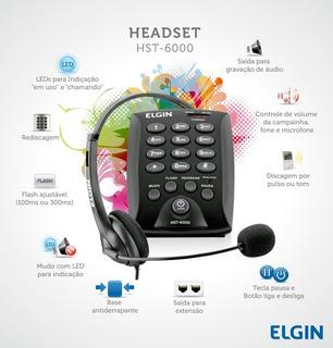 Headset Elgin Hst-6000