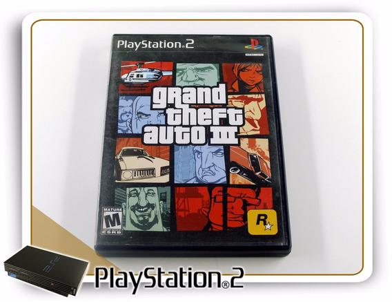 Ps2 Grand Theft Auto 3 Original Playstation 2