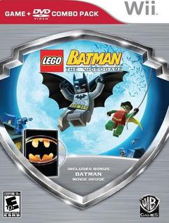Lego Batman + Pelicula Dvd Batman Wii