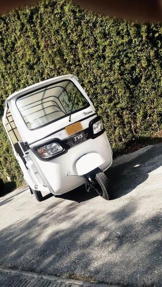 Motocarro Tvs King Indu 2020 De Pasajeros Motor 200 Kawasaki