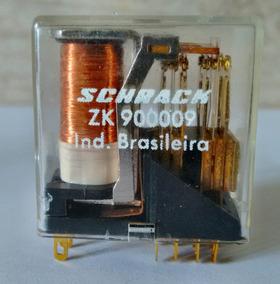 2 Pçs Rele Schrack Zk900009 / 9vcc / 1a - 120v
