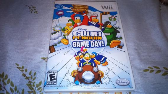 Club Penguin Game Day Original Americano Compl. Nintendo Wii