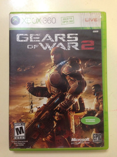 Juego Xbox 360 Gears Of Wars 2