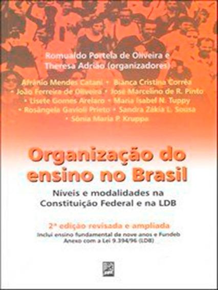 Organização Do Ensino No Brasil Níveis E Modalidades Na...