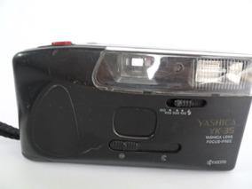 Câmera Máquina Fotográfica Antiga Yashica Yk 35 Coleção