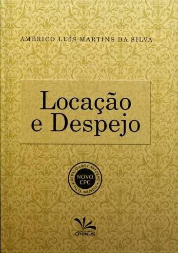 Livro Locação E Despejo - Editora Cronus