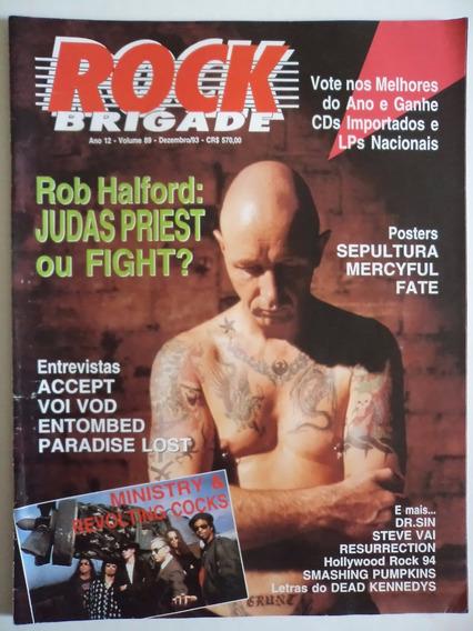 Revista Rock Brigade Ano 12 - Volume 89
