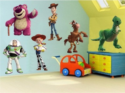 Vinilos Adhesivos Decorativos Toy Story - 6 Figuras 20cm