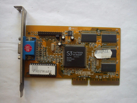 Placa De Video S3 Trio 3d 4mb Agp2x/4x