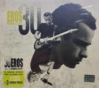 Cd Eros Ramazzotti 30-2 Cds + 1 Dvd Nuevo