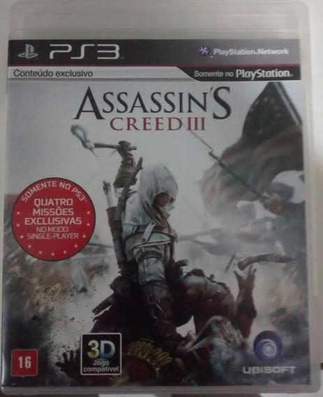 Assassins Creed Iii - Jogo Ps3