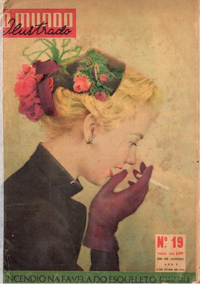 O Mundo Ilustrado 1953 Vasco Vivien Leigh Rainha Elizabeth