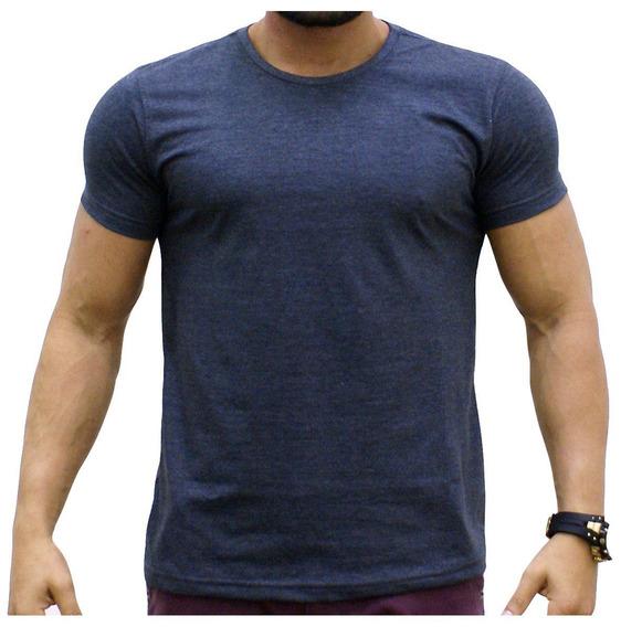 Camiseta Masculina Preta Lisa Empório Brasil - 100% Algodão