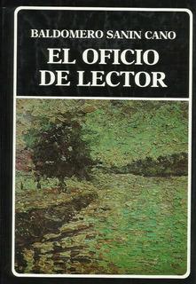 El Oficio De Lector - Baldomero Sanin Cano (411pags)