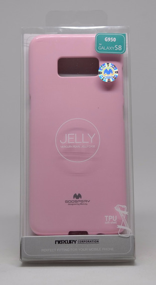 Funda Galaxy S8 Mercury Goospery Jelly Case Rosa