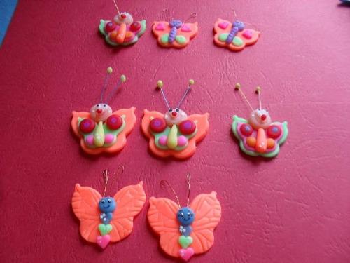 Apliques Mariposas -docenas 3cm Docena