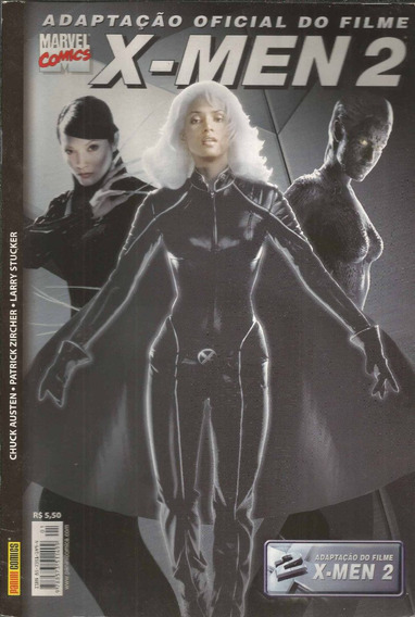 X-men 02 Adaptacao Oficial Do Filme - Bonellihq Cx64 F19