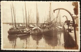 Cartão Postal Antigo Salvador Bahia Docas