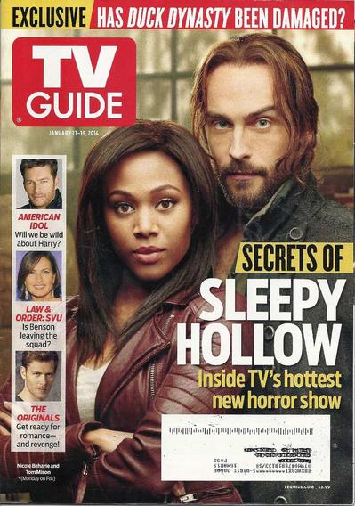 Tv Guide: Nicole Beharie & Tom Mison / Sleepy Hollow / Pino