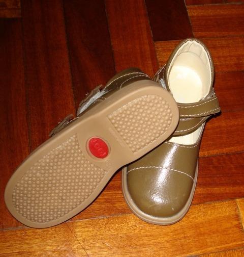 Zapatos Cuero Toot Nro 25