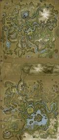 Mapa E Poster 29x46cm Jogo Far Cry 2 Semi Novo
