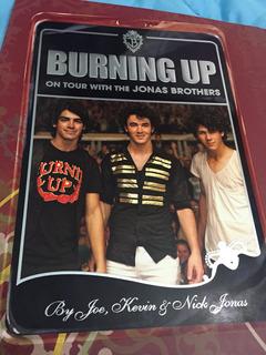 Libro Burning Up Tour Jonas Brothers Tapa Dura Ingles