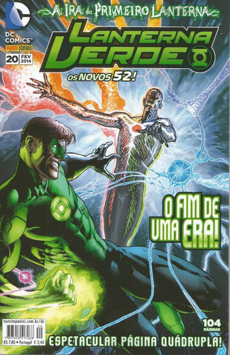 Lanterna Verde 20 Novos 52 - Bonellihq Cx90 G19