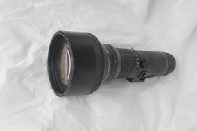 Lente Nikkor Ed 400mm 1:3.5 Mecânica