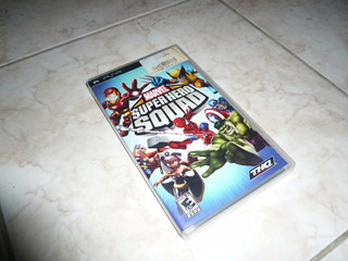 Oferta, Se Vende Marvel Super Hero Squad Psp